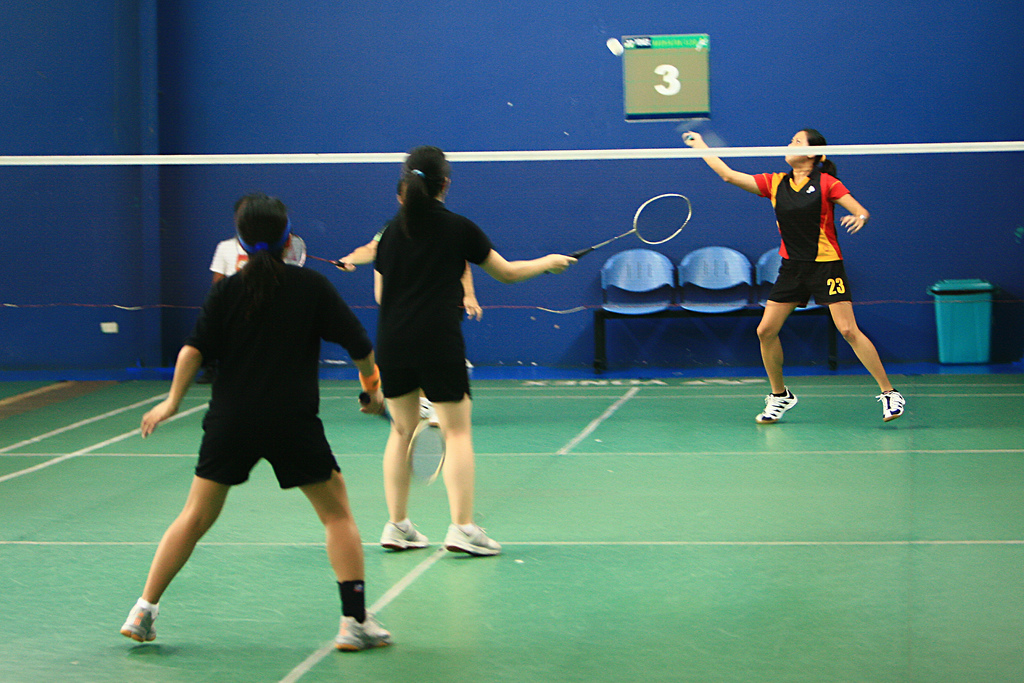 introduce two badminton tournaments one held Held at the united world college (dover campus) in bustling singapore, our cameras couldn't pass up on the opportunity to witness the tournament in full swing a brainchild of local badminton outfit, alpha academy, the championship has seen an incredible flourish in participation since its launch just 2 years ago.